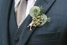 Boutonnieres and Corsages / Inspirations for wedding corsages and boutonnieres