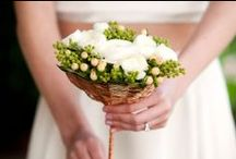 Non-Traditional Bridal Bouquets / Bridal bouquets for the girl who is looking for something a little different.