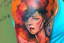 Ivana Belakova / Ivana Tattoo Art / Los Angeles, CA / www.ivanatattooart.com/ / by Ann Kaufmann