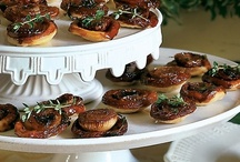 Recipes: Finger Foods & Dips / Savory Finger Foods and Savory or Sweet Dips - Recipes suitable for parties/guests