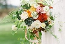 Bridal Bouquets / Bridal bouquets that I made or admire.