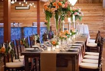 Table Designs / Wedding and event table decor that I designed or admire.
