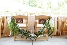 Chair Treatments / To make your event especially beautiful, consider adding a decorative touch to your chairs.