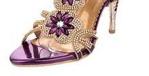 A Jeweled Lady / Jeweled  Handbags & Shoes.... No sequence/glitter