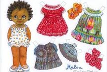 Paper-Dolls / Old playtoys