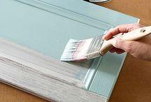DIY furniture & cabinet refinish
