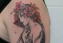 Luis Orellana Jugendstil / Located in Berlin, Germany / www.tattoosberlin.com