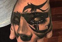 The Black Mark Tattoo Studio / Artists Mick Squires, Kitty Dearest, Fabz, Ben Thomas, Crispy Lennox, and Benjamin Laukis / The Black Mark Tattoo Studio in Melbourne, Australia / http://www.theblackmark.com.au/ / by Ann Kaufmann