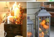 "FALL DIY's & Easy Decorating / Simple DIY's and Easy Decorating to Make Your House a Home.     This is not a ""pretty"" board but has a lot of great idea for easy decorating. Enjoy!  / by Kaaren Armstrong"
