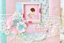 My Baby Memory Books / Photo album Baby, Baby Memory Book, Photo album Sweet Girl, Personalized photoalbum, Photo album, Baby Scrapbooking, Baby Girl Memory Book