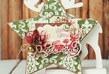 New Year's cards Scrapbooking