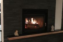 Fire place 2 sides