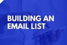 List Building: Building an Email List / list building, building an email list, lead generation, email marketing