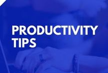 Productivity Hacks / Productivity tips & tricks for busy entrepreneurs. Includes tools, tutorials and time management tips