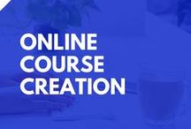 Online Course Creation /  Tutorials and tips for creating sucessful online courses including online course platforms, membership site plugins, online course planning and online course promotion