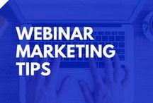 Webinars & Webinar Platforms / Tutorials tips and tricks on creating launching and hosting webinars.