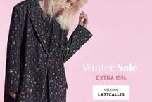 MCPOPS - WINTER SALE SELECTION / LAST CALL FOR WINTER SALE. The final selection of winter Sale. Get an additional 15% on already reduced prices. Use code LASTACALL15 at checkout to get an additional 15% off all sale items.