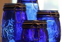 ~Shades of Blue~ / by Barbara Freeman