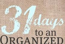 Getting Organized..one day