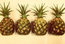 Pineapple Obsession / Piñas / Pineapples  / by Be Fashionably