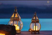 Lighting, candelabra, votives