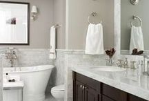 HOME | Bathroom | Laundry room / #home #homedecor #beforeafter #laundry #bathroom #laundryroom