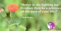 Freedom Quotes / Be An Inspirer - Spread the Inspiration Visit - www.beaninspirer.com for more Inspirational Articles.
