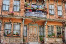 natürmort-eski evler