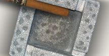 ↘ Concrete Küllük - Ashtray / Beton Küllükler Convrete Ashtray
