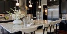 Dream Kitchens / Check out these amazing kitchen designs and ideas, and dream about where you'll want to store your Master Pan!