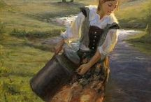 Anna / Character inspiration for Anna von Esche, heroine of YA fantasy novel The Beast of Weissburg, by Emma Fox