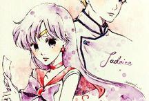 Sailor Mars/Rei Hino x Jadeite
