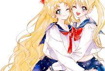 Princess Serenity x Sailor Venus/Usagi x Minako
