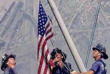 9-11-01WE WILL NEVER FORGET / by Brenda Merritt