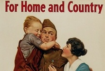 Homefront Causes: WWI  / Decorating the Home. Here is a sample of our unique collection of vintage WWI posters