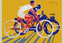 Cycling Posters / Cycling posters are one of the most collectable genres, and you can see why. The bicycle and the poster were both emergent technologies at the same time and you can really see the excitement about bicycles reflected in the posters!