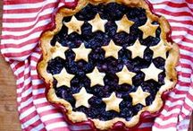 JULY 4TH RECIPES / Recipes for a festive and delicious July 4th holiday.