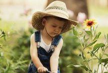 "Kid's Garden / Great ideas for ""growing"" green kids."