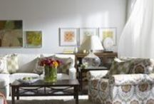 Lovely Living Rooms - Ethan Allen / What's a living room if not a place you want to live? Check out some of the living room looks and inspirations we're loving right now. / by ETHAN ALLEN