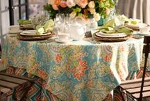 Tablescapes / by FLOWERS ON ORCHARD LANE