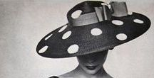 """Millinery Couture """"Heads Up"""" / Hats are a fabulous accoutrement to practically any outfit, including a swimsuit! Sometimes called """"crowns,"""" hats are accessory pieces that seem to always evolve and never go out of style!"""