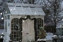 Garden Sheds / I want a shed just for me.  A place to plan, work, sit, and dream. It would hold all the things I love, and no one could come in but me.