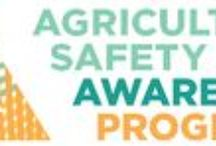 National Agricultural Safety Awareness / For farmers and ranchers, agricultural safety is their best investment. The Farm Bureau's Agricultural Safety Awareness Program promotes safety and health in agricultural and rural communities.