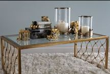 Holiday Black & Gold - Ethan Allen / Tis the season for more is more / by ETHAN ALLEN