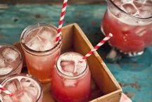 MOCKTAILS AND COCKTAILS / Cocktail recipes and non-alcoholic mocktail recipes for sipping all year long.  / by One Hungry Mama