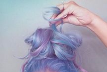 H A I R    G O A L S / If I could ever dye my hair like this
