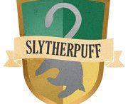 S L T H E R P U F F / Slytherin and Hufflepuff randomness