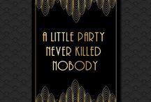 P A R T I E S / Plans for my 16th, 18th and 21st birthday parties