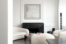 residence :: traditional interiors / Residential living rooms, libraries and hallways that draw inspiration from classic lines, details and materials. It features, but is not limited to designers such as: Joseph Dirand, Piet Boon and Dimore Studio.