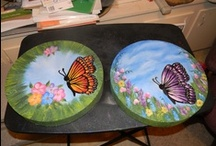 Kreations By Jan- ( things is have made) / I made or painted these things  / by Jan Hood